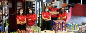 Distributions de paniers de première nécessité gratuits aux étudiants de CY Cergy Paris Université
