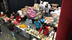 8ème édition de la distribution alimentaire par Les Éco-Droits