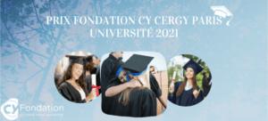 Prix Fondation CY Cergy Paris Université 2021